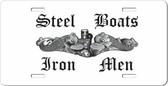 Steel Boats, Iron Men Auto Tag