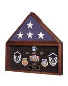 Flag and Memorabilia Display Case