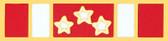 Philippine Defense Service Ribbon Lapel Pin