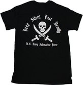 DEEP, SILENT, FAST and DEADLY SUBMARINE T-SHIRT
