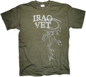 Iraq Veteran Horizontal Tribal T Shirt
