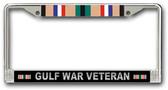 Gulf War License Plate Frame