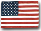 AMERICAN  4' X 6' NYLON EMBROIDERED FLAG