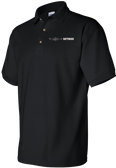 Black 100% Cotton Polo