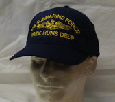 Pride Runs Deep Submarine Ball Cap