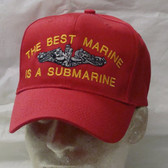Best Marine is a Submarine Ball Cap