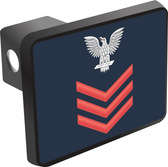 U.S. Navy Petty Officer 1st Class E-6 Hitch Cover
