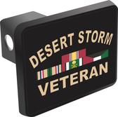 Desert Storm Veteran Hitch Cover