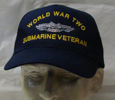 WW2 Submarine Veteran Ball Cap