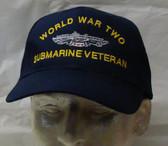 WW2 Submarine Veteran Ball Cap