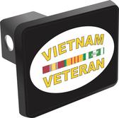 Vietnam Veteran Oval Hitch Cover