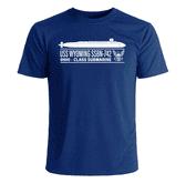 USS Wyoming SSBN-742 T-Shirt