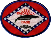 USSVI RAZORBACK Base Embroidered Patch