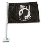 Car POW/MIA Flag