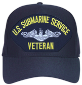 U.S. Submarine Service Veteran Cap