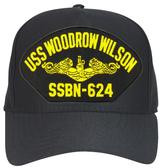 USS Woodrow Wilson SSBN-624 (Gold Dolphins) Submarine Officer Cap