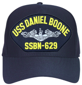 USS Daniel Boone SSBN-629 (Silver Dolphins) Submarine Enlisted Cap