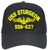 USS Sturgeon SSN-637 (Gold Dolphins) Submarine Officer Cap