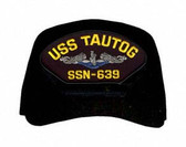 USS Tautog SSN-639 Blue Water (Silver Dolphins) Submarine Enlisted Cap