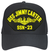 USS Jimmy Carter SSN-23 Officer Ball Cap Hat