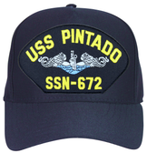 USS Pintado SSN-672 Blue Water (Silver Dolphins) Submarine Enlisted Cap