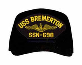USS Bremerton SSN-698 (Gold Dolphins) Submarine Officers Cap