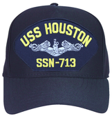 USS Houston SSN-713 (Silver Dolphins) Submarine Enlisted Cap