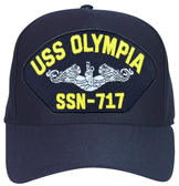 USS Olympia SSN-717 ( Silver Dolphins ) Submarine Enlisted Cap