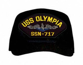 USS Olympia SSN-717 Blue Water (Silver Dolphins) Submarine Enlisted Cap