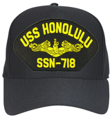 USS Honolulu SSN-718 (Gold Dolphins) Submarine Officers Cap