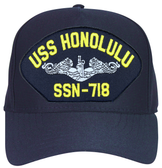 USS Honolulu SSN-718 (Silver Dolphins) Submarine Enlisted Cap