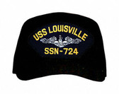USS Louisville SSN-724 (Silver Dolphins) Submarine Enlisted Cap