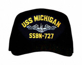 USS Michigan SSBN-727 (Silver Dolphins) Submarine Enlisted Cap