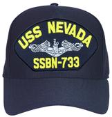 USS Nevada SSBN-733 (Silver Dolphins) Submarine Enlisted Cap