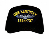 USS Kentucky SSBN-737 (Silver Dolphins) Submarine Enlisted Cap