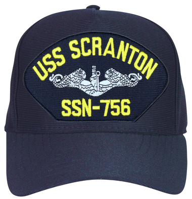 USS Scranton SSN-756 (Silver Dolphins) Submarine Enlisted