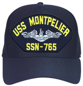 USS Montpelier SSN-765 (Silver Dolphins) Submarine Enlisted Cap