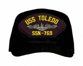 USS Toledo SSN-769 (Silver Dolphins) Submarine Enlisted Cap