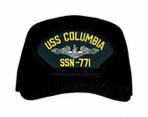 USS Columbia SSN-771 (Silver Dolphins) Submarine Enlisted Cap
