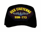 USS Cheyenne SSN-773 Blue Water (Silver Dolphins) Submarine Enlisted Cap