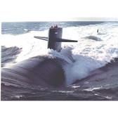 USS NEW YORK CITY SSN696 – Builder's Lithograph