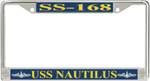 USS Nautilus SS-168 License Plate Frame