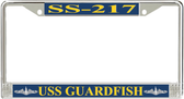 USS Guardfish SS-217 License Plate Frame