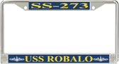 USS Robalo SS-273 License Plate Frame