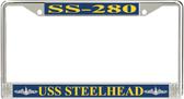 USS Steelhead SS-280 License Plate Frame