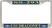 USS Dragonet SS-293 License Plate Frame
