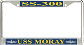 USS Moray SS-300 License Plate Frame