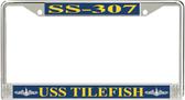 USS Tilefish SS-307 License Plate Frame