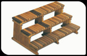"64"" 3Tier Cedar Step-PICK UP ONLY"