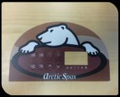 Artic Halfmoon Topside Overlay (Sticker)
